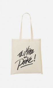 Tote Bag Poke Mom