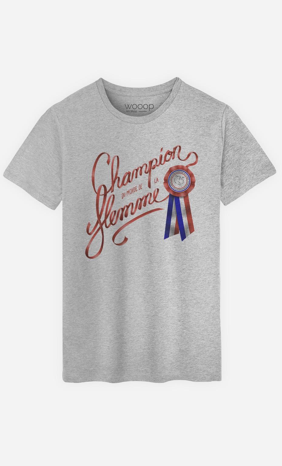 T-Shirt Homme Champion du Monde
