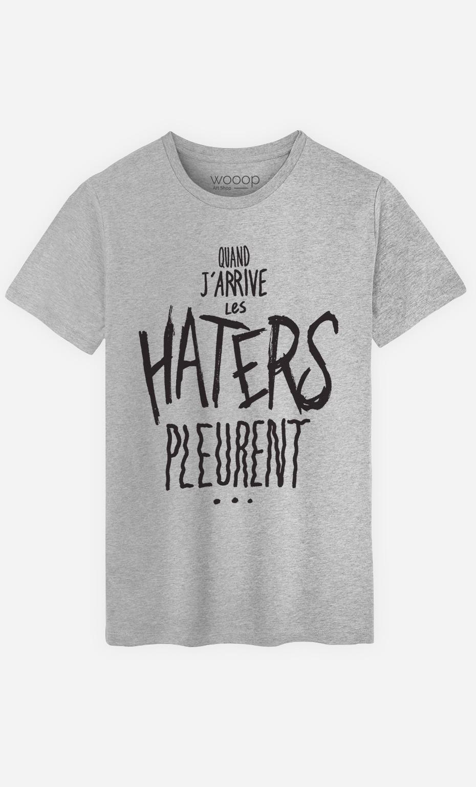 T-Shirt Homme Les Haters Pleurent