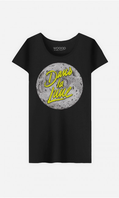 T-Shirt Femme Dans la Lune