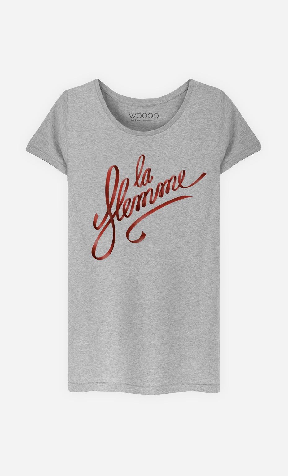 T-Shirt Femme La Flemme