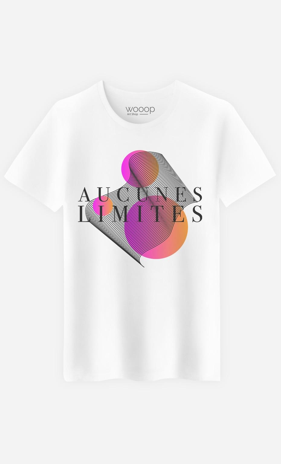 T-Shirt Homme Aucunes Limites