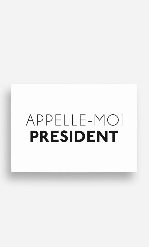 Poster Appelle-Moi Président