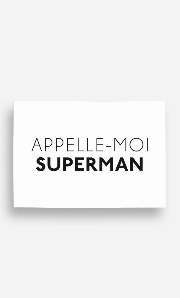 Poster Appelle-Moi Superman