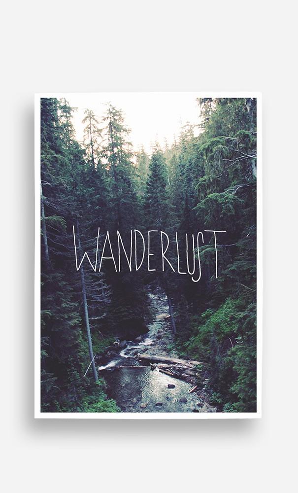 Poster Wanderlust