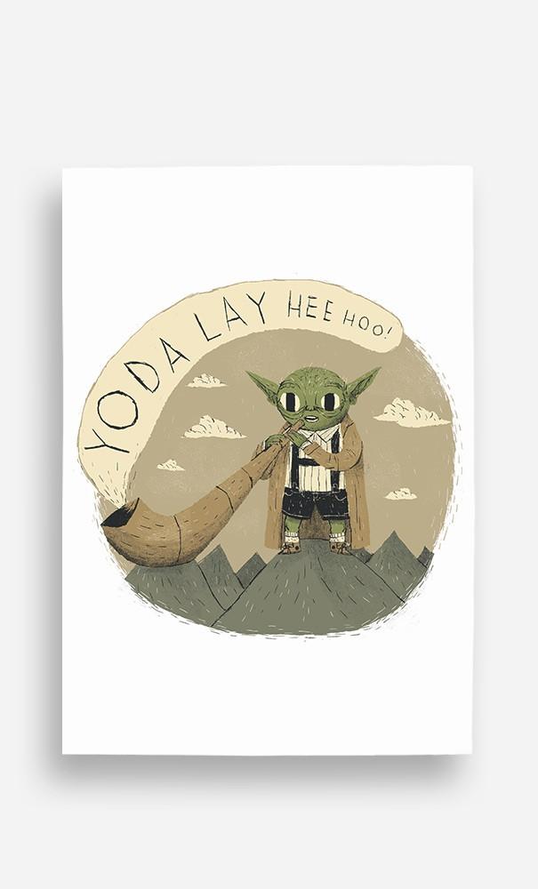 Poster Yoda Layheehoo