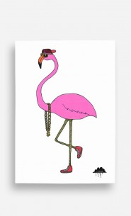Poster Frederick the Flamingo