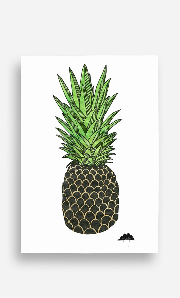 Poster Pineapple Paul