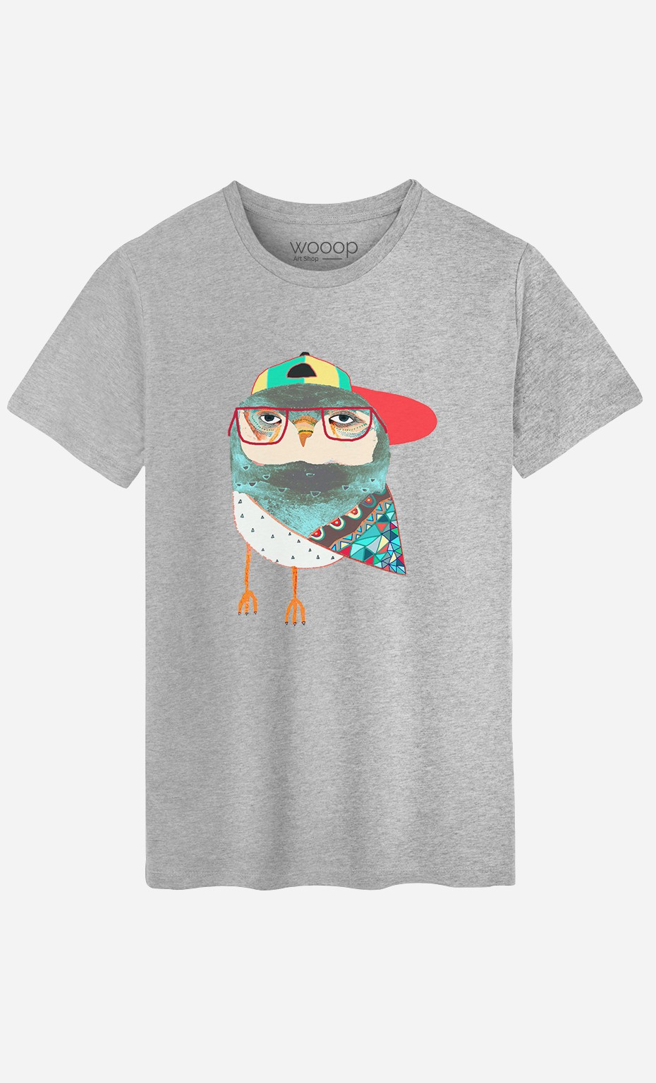 T-Shirt Homme Hip Owl