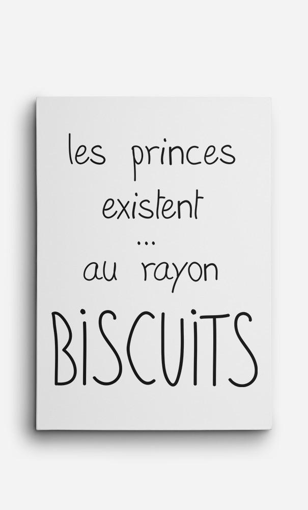 Toile Les Princes Existent au Rayon Biscuits