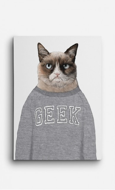 Toile Grumpy Cat
