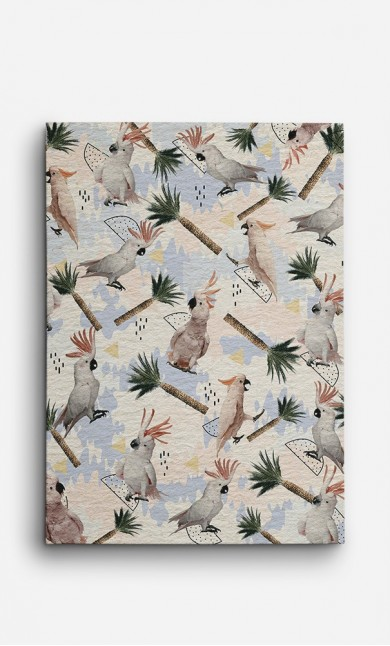 Toile Cockatoos