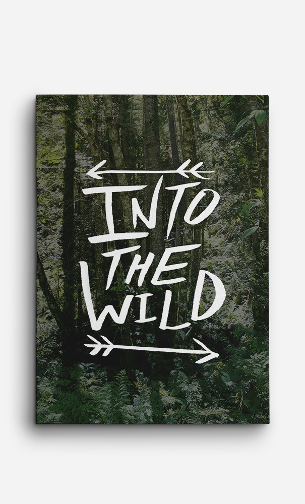 Toile Into The Wild