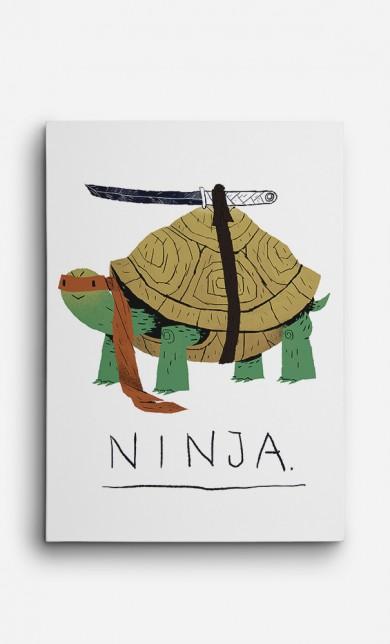 Toile Ninja Turtle