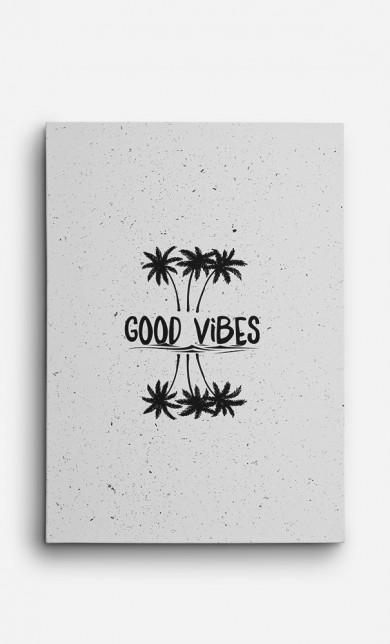 Toile Good Vibes