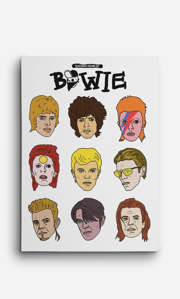 Toile David Bowie