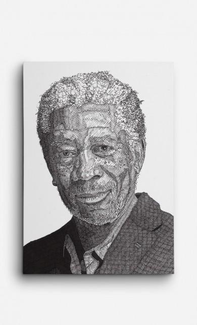 Toile Morgan Freeman