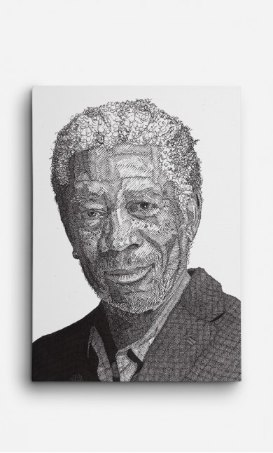 Toile Morgan Freeman