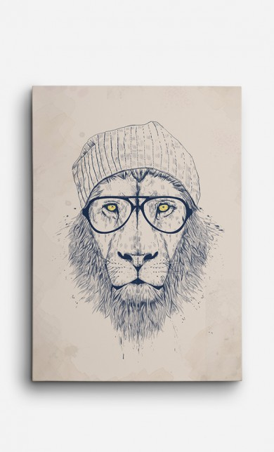 Toile Cool Lion