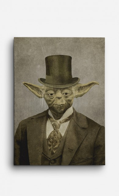 Toile Sir Yoda
