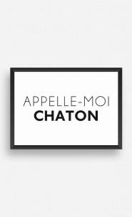 Cadre Appelle-Moi Chaton