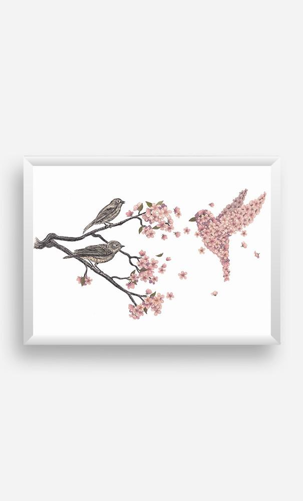 Cadre Blossom Bird