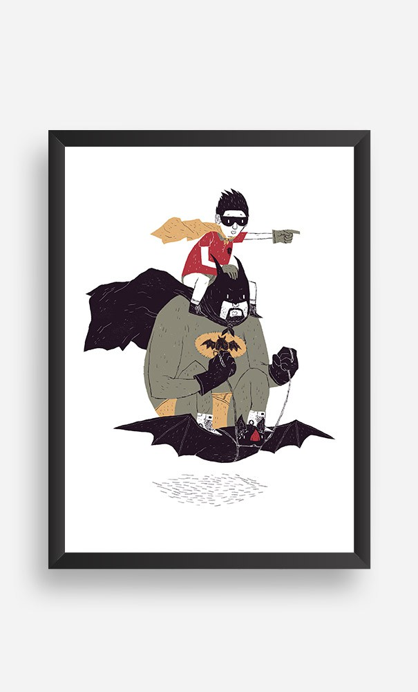Cadre Batman et Robin