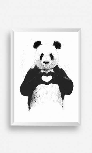 Cadre Love Panda