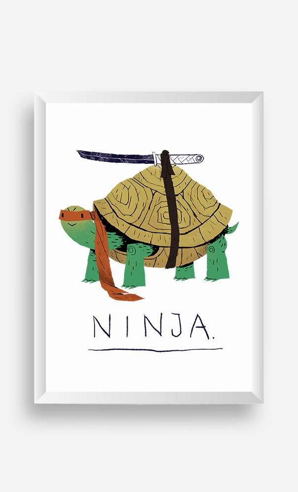 Cadre Ninja Turtle