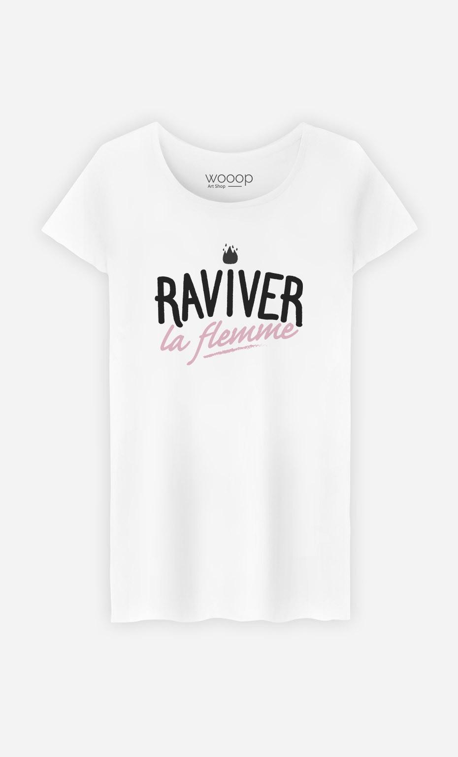 T-Shirt Femme Raviver la Flemme