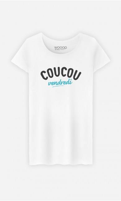 T-Shirt Femme Coucou Vendredi
