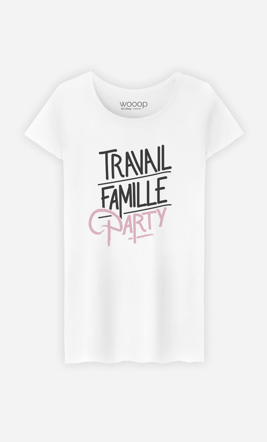 T-Shirt Travail Famille Party