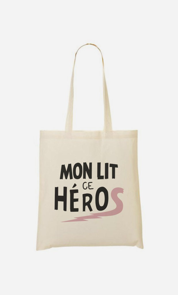 Tote Bag Mon Lit ce Héros