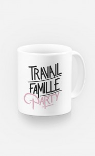 Mug Travail Famille Party