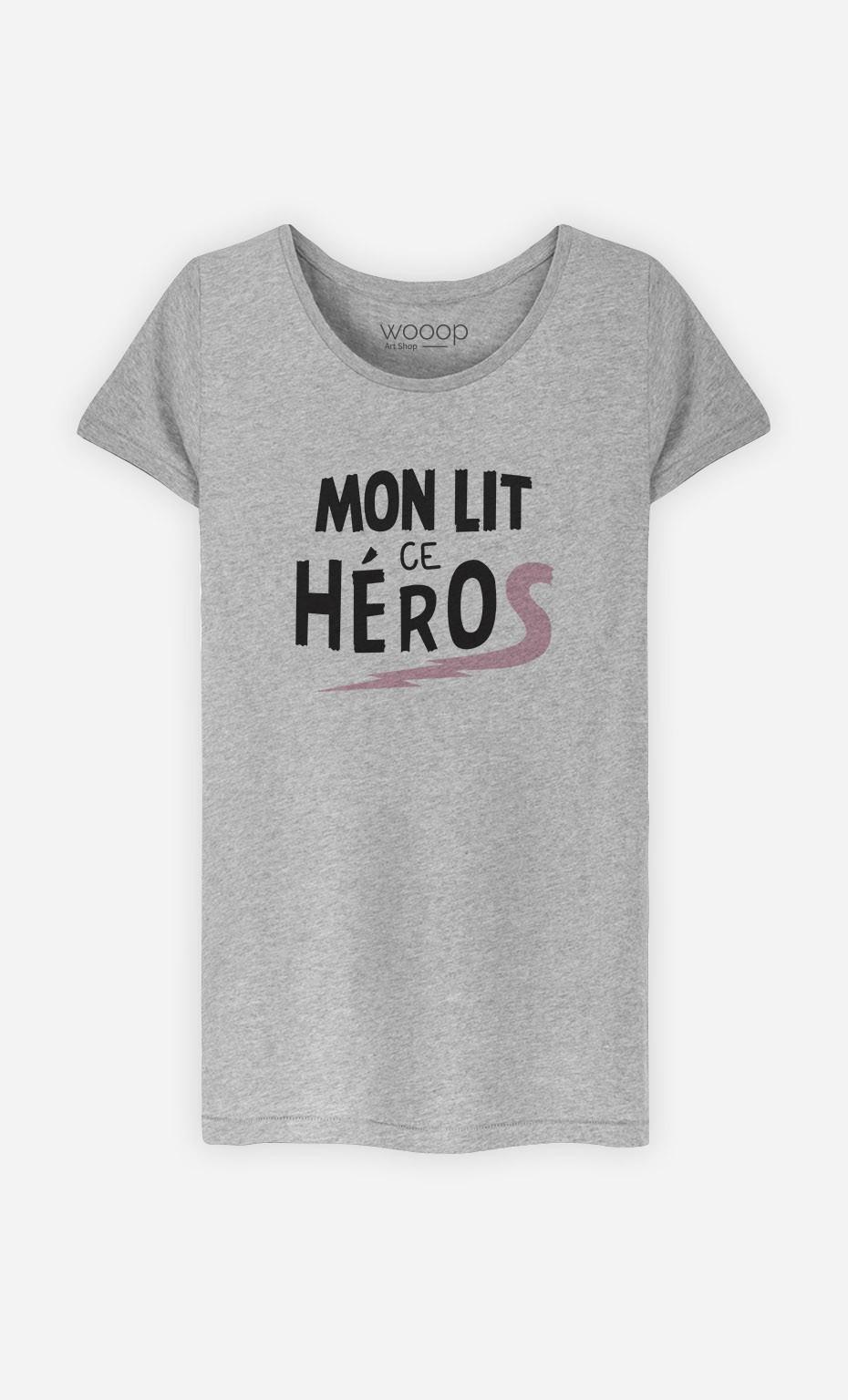 T-Shirt Mon Lit ce Héros