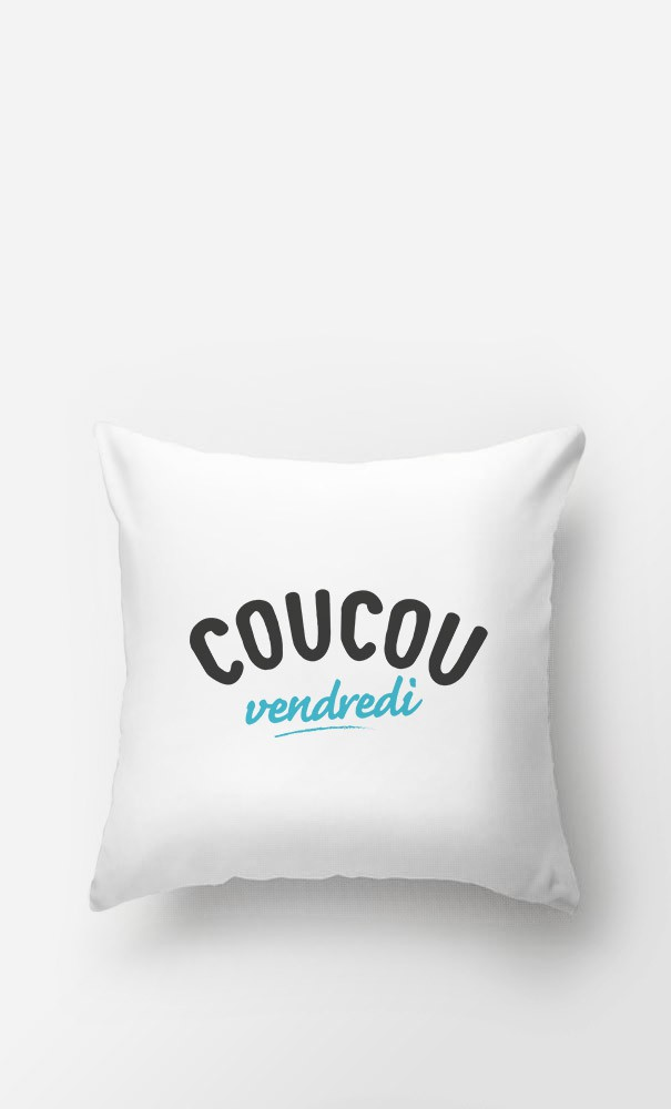 Coussin Coucou Vendredi