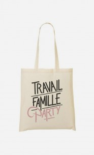 Tote Bag Travail Famille Party