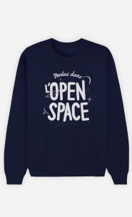 Sweat Homme Open Space