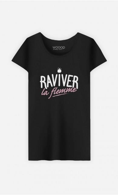T-Shirt Raviver la Flemme