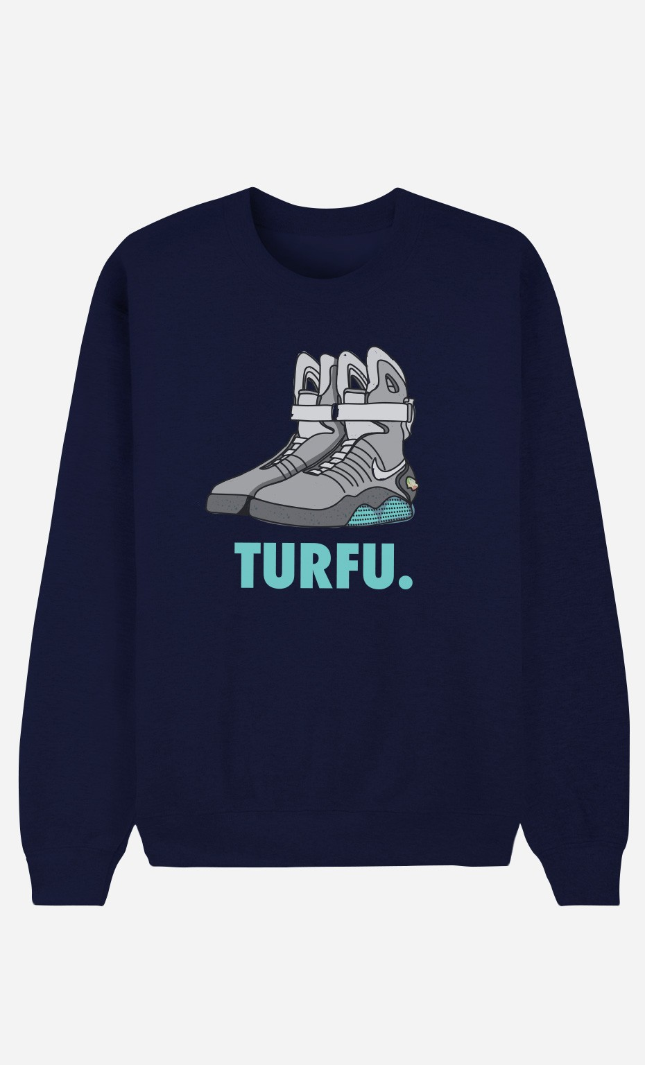 Sweat Bleu Turfu