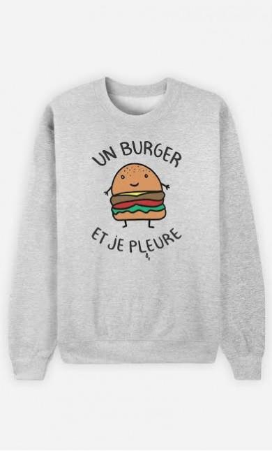 Sweat Un Burger et Je Pleure