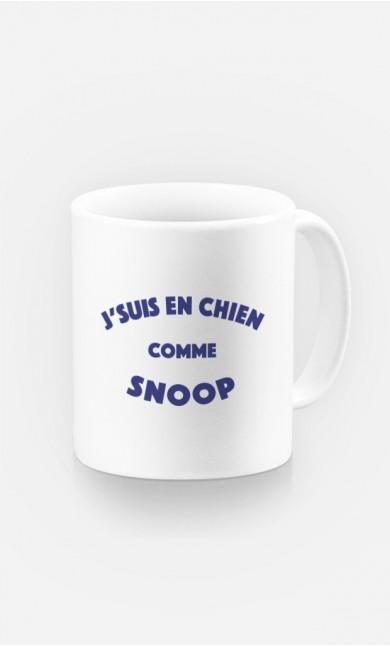 Mug J'suis en Chien comme Snoop