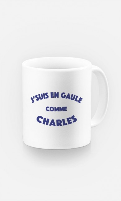 Mug J'suis en Gaule comme Charles
