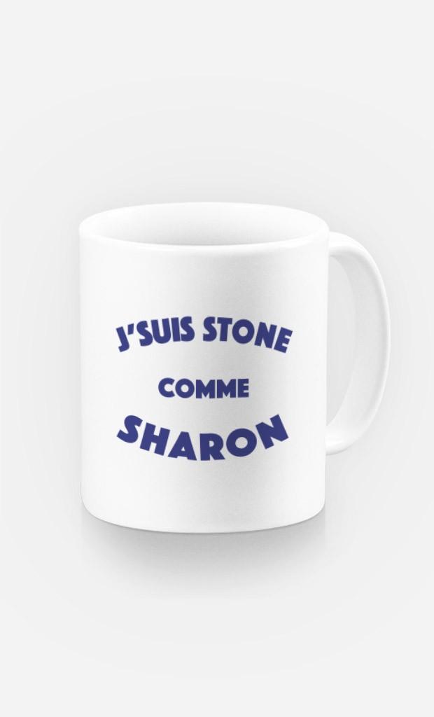 Mug J'suis Stone comme Sharon