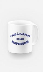 Mug J'suis à l'Appart comme Napoléon