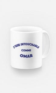 Mug J'suis Intouchable comme Omar
