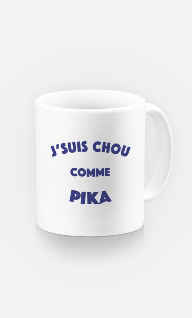 Mug J'suis Chou comme Pika