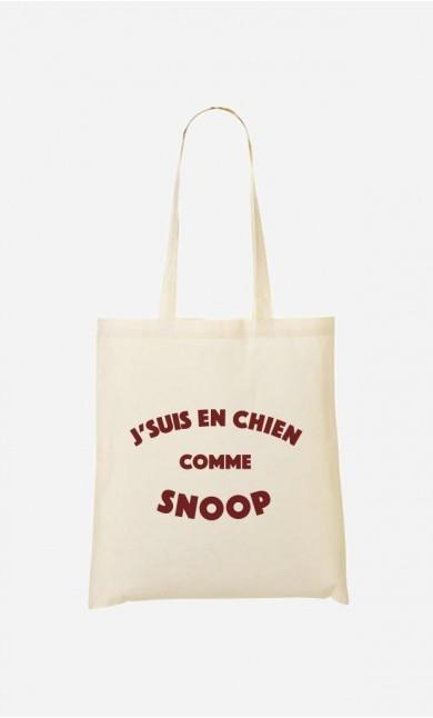 Tote Bag J'suis en Chien comme Snoop