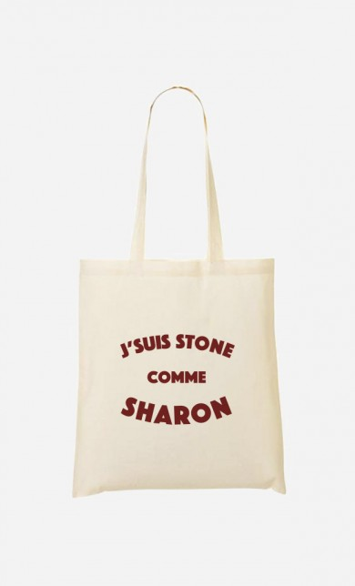 Tote Bag J'suis Stone comme Sharon