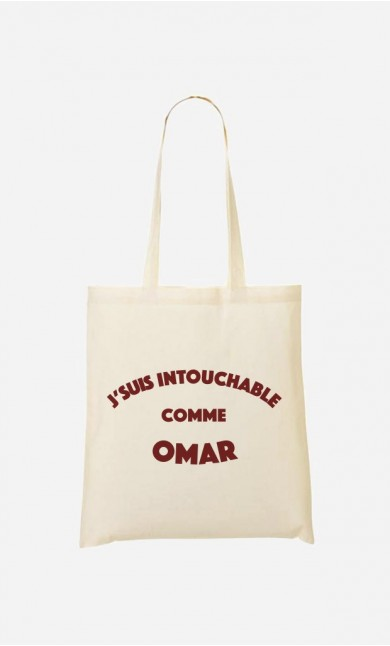 Tote Bag J'suis Intouchable comme Omar